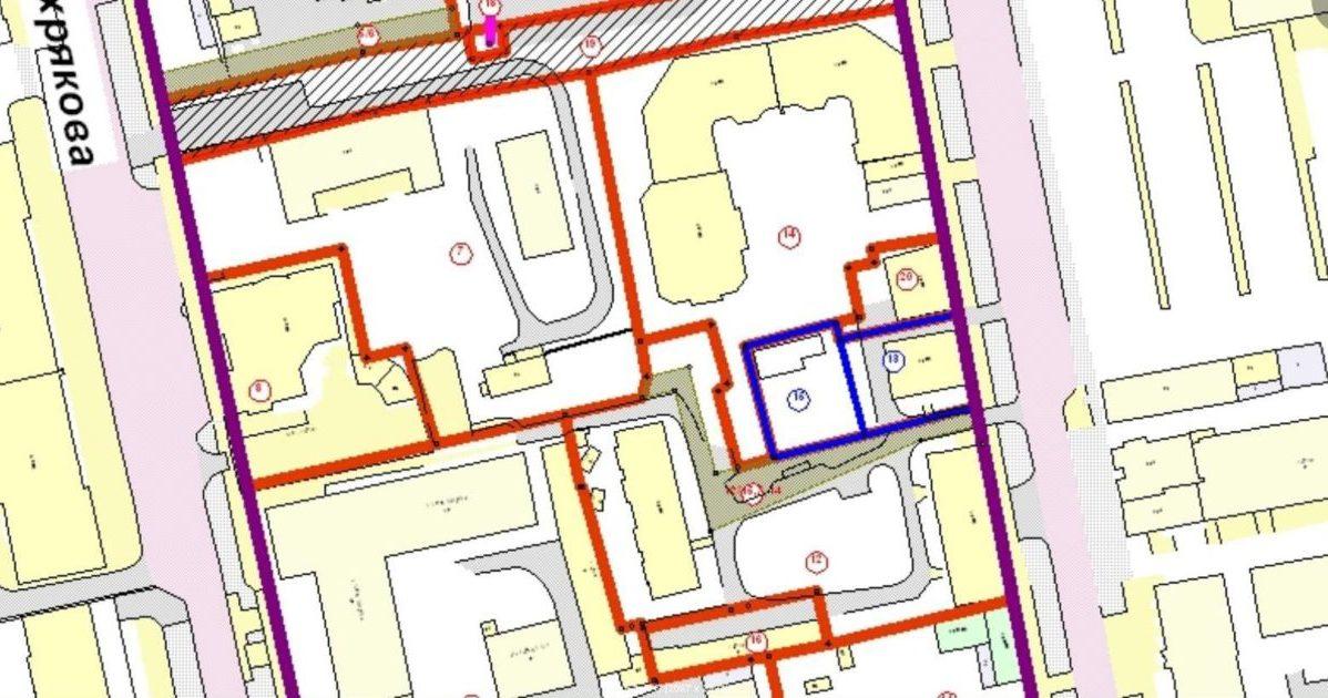 Кадастровая документация - план земельного надела